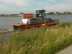 Extra maaiboot in Oldambtmeer